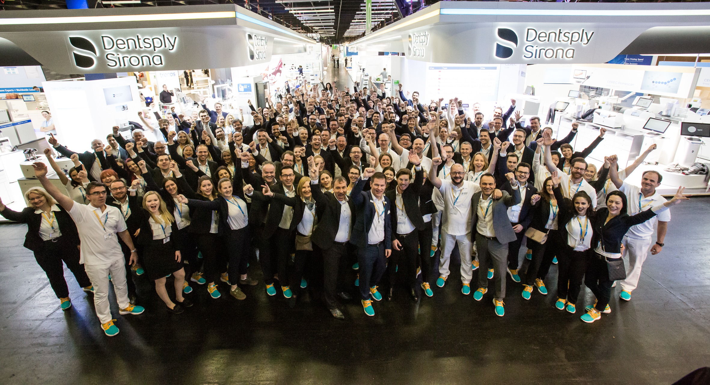 Innovative and efficient: Dentsply Sirona presented itself as a new