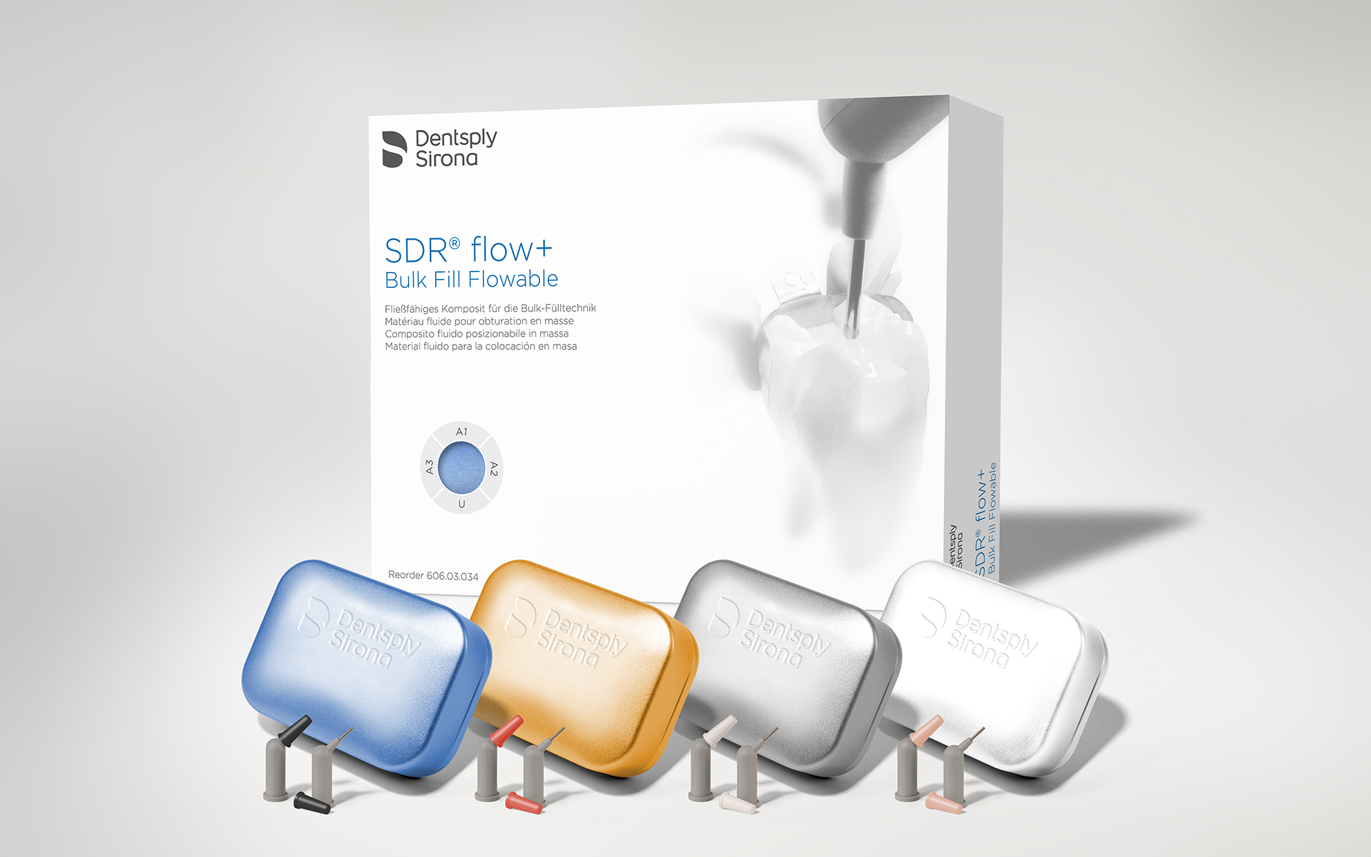 Dentsply Sirona Introduces Sdr Flow Bulk Fill Flowable